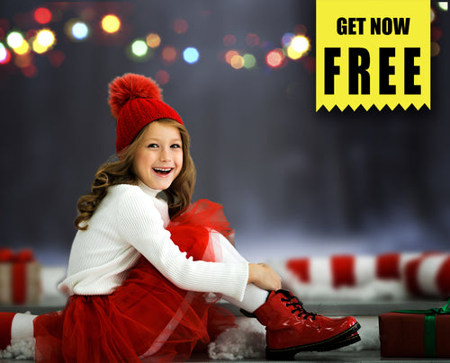 FREE christmas bokeh light Photo Overlays, Photoshop overlay
