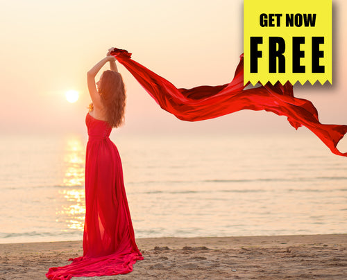 FREE flying fabric Photo Overlays, Photoshop overlay