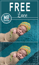 Load image into Gallery viewer, FREE lace Photo Overlays, Photoshop overlay
