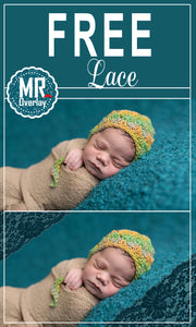FREE lace Photo Overlays, Photoshop overlay
