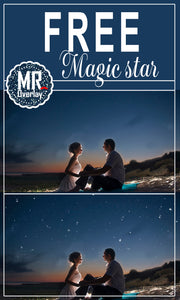 FREE falling star Photo Overlays, Photoshop overlay
