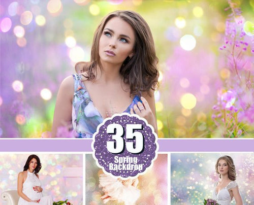 35 spring summer pastel photo art backdrops, Photoshop background textures overlay, digital backdrops, photoshop overlay, Photo overlays