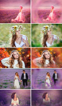 Load image into Gallery viewer, 50 Flower painted photoshop overlays, floral dreams summer spring wedding branches branch fairy photo sessions, magic effects png