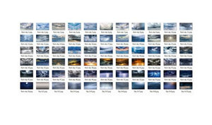 55 Dramatic sky Overlays, Beautiful sky, Cloud Overlays, rain dark realistic nature sky, skies overlay, Photoshop Overlays jpg file