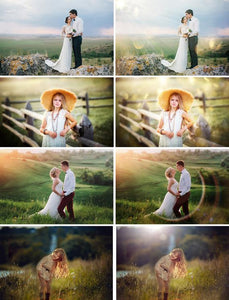 75 Natural sun light Photoshop Overlays, Sunlight bokeh, Sun Rays, Sun Lens, Sun beams, Light Leak, light effect, digital backdrop, jpg file