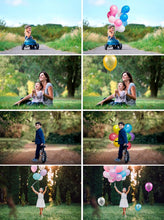 Load image into Gallery viewer, 55 air balloons ballon Photo Overlays, Photography Overlays, Photography Prop, Digital Download, clip art, clipart, png file