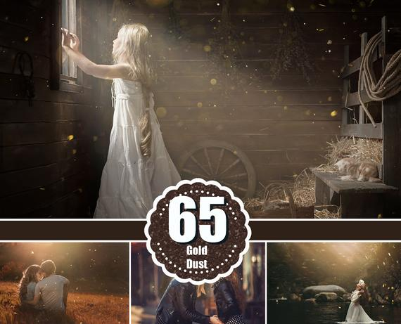 65 Summer floating dust effect, Photoshop overlays, dust & haze overlays, fairy dust, sun, ray, sunlight, light bokeh photo, jpg file