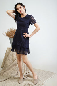 Keva Sleeve Lace Dress