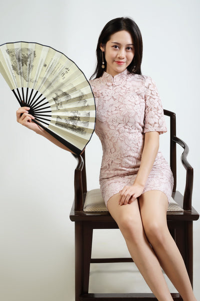 Venus Sleeve Cheongsam Dress