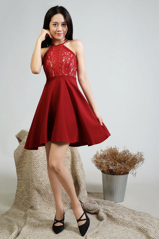 Kaccy Lace Dress