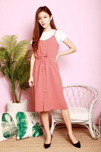 *DJ* Cindy two-piece pinafore set
