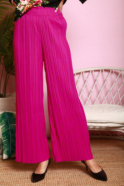 *DJ* Elaza Pleated Pants