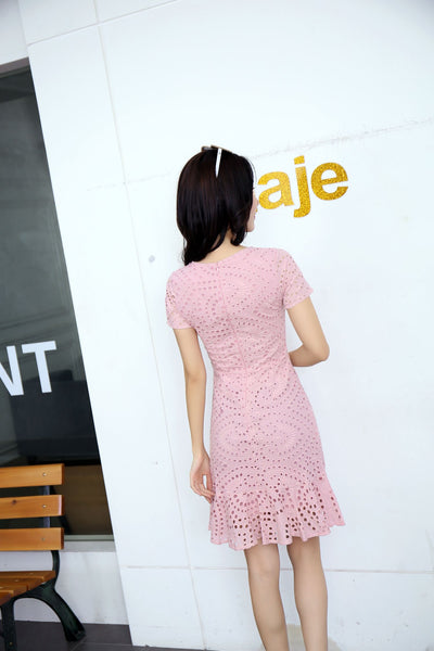 *DJ* Karla Eyelet Dress