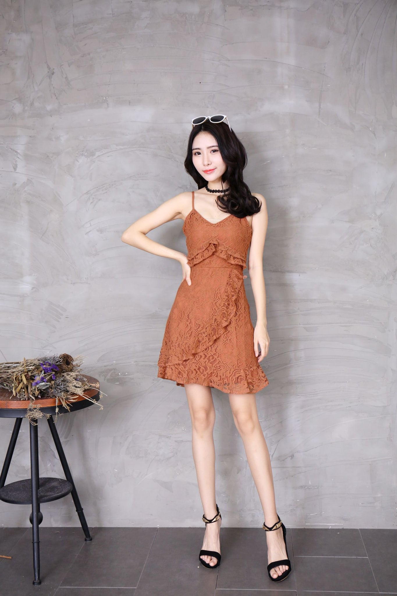 *DJ*  Hella Lace Dress