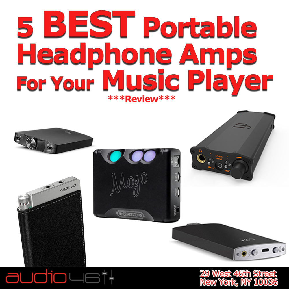 5 Best Portable Headphone Amps For Your Music Player