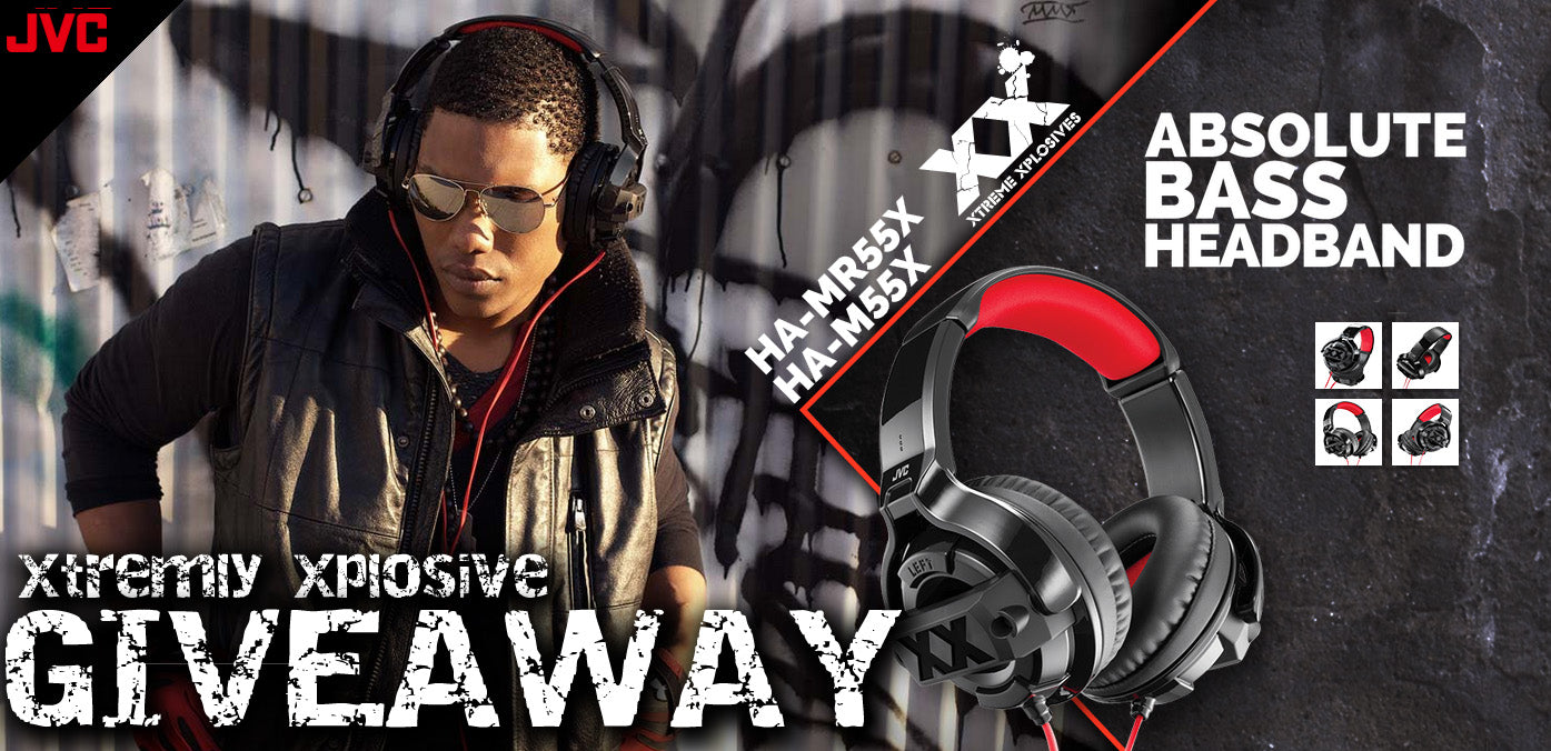 Orb Headphones Presents : JVC Headphones Xtremly Xplosive Giveaway!