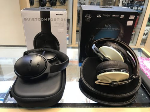 bose quietcomfort35 sennheiser hd1 comparisonreview