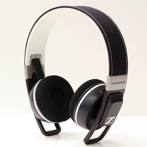 sennheiser urbanite black on ear headphones