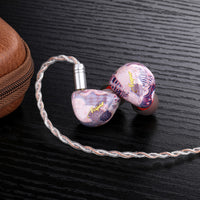 Queen Of Audio - Purple Vesper In-Ear Monitors **IN STOCK**