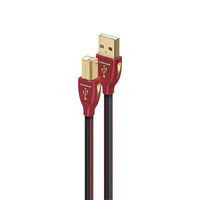 "AudioQuest - Cinnamon - 0.75m (2'5"") - Audiophile USB 'A' to 'B' Cable - Audio46"