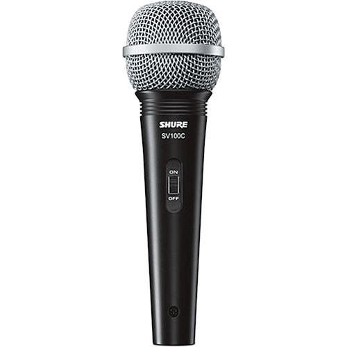 Shure SV100-W Dynamic Cardioid Handheld Microphone - Audio46