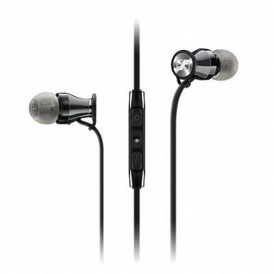Sennheiser Momentum In Ear Headphones (Samsung Galaxy/Android, Black Chrome) - Audio46