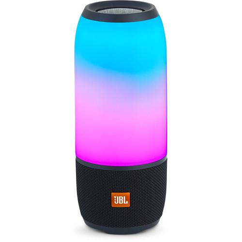 JBL Pulse 3 Portable Bluetooth Speaker (Black) - Audio46