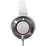 Audio-Technica - WS550iS White - Solid Bass with In-Line Controls