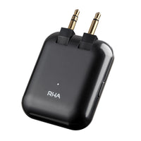 RHA - Wireless Flight Adapter - Bluetooth 5 Audio Transmitter