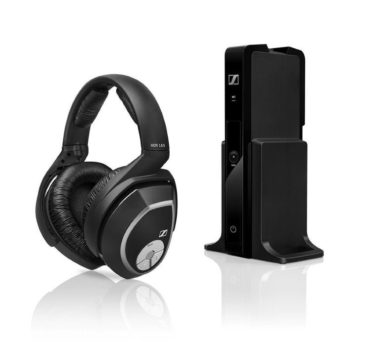 Sennheiser RS 165 Wireless Headphones Digital with Transmitter - Audio46