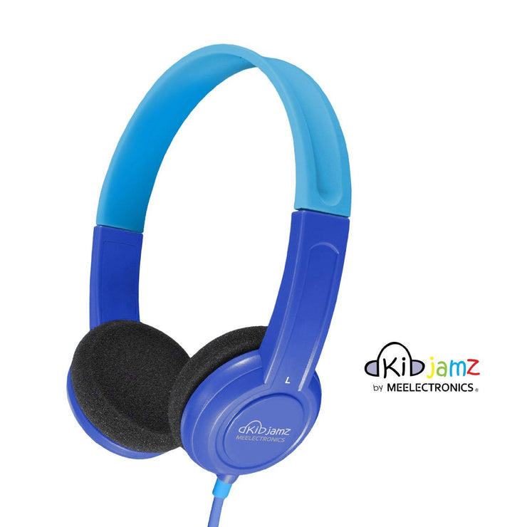 MEEAudio KidJamz Lightweight and Durable Headphones for Kids (Blue) - Audio46