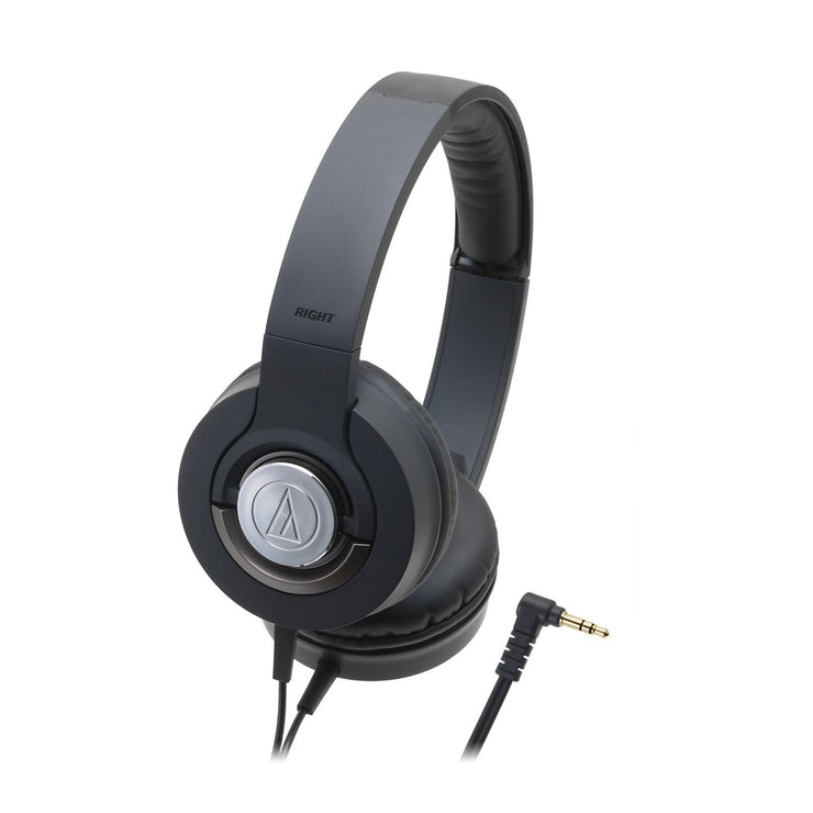 Audio-Technica ATH-WS33X Solid Bass Over-Ear Headphones - Audio46
