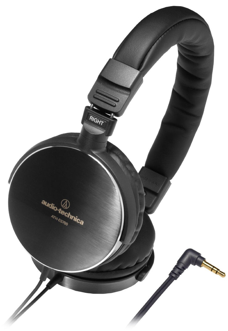 Audio-Technica ATH-ES700 Closed Back On-Ear Headphones - Audio46