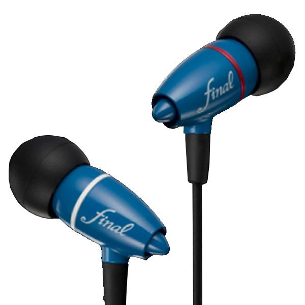 Final Audio Adagio II Blue Dynamic Earphones - Audio46