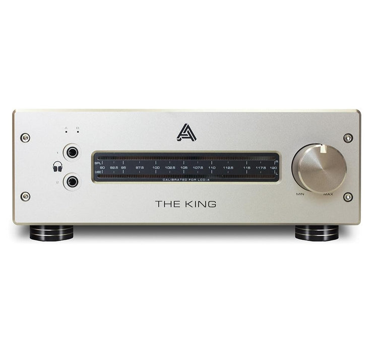 Audeze The King MKII Class-A Hybrid Tube/MOSFET Headphone Amplifier - Audio46