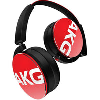 AKG Y50 On-Ear Headphone - (Red) - Audio46