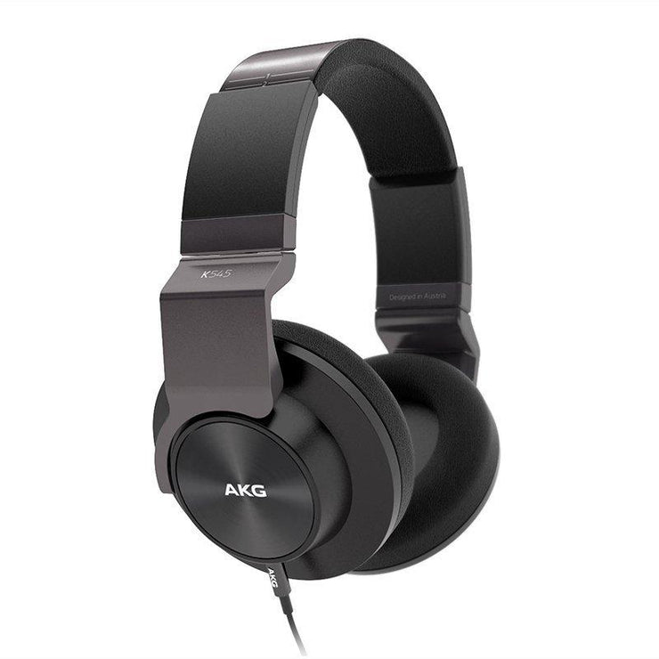 AKG K545 Over-ear headphones with in-line remote and microphone (Black) - Audio46