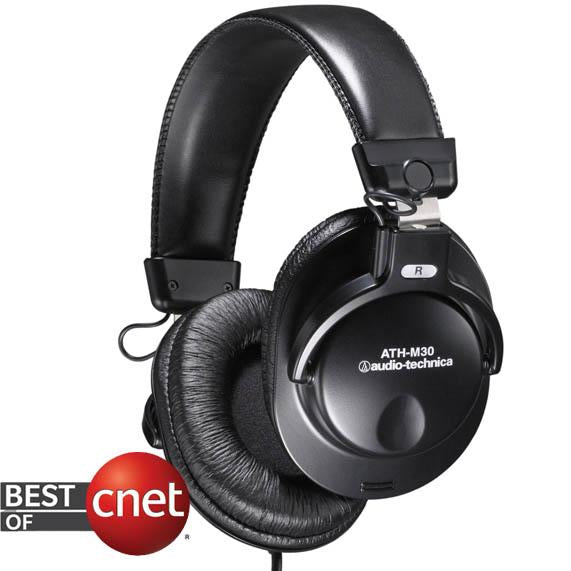 Audio-Technica ATH-M30 Stereo Professional Headphone - Audio46
