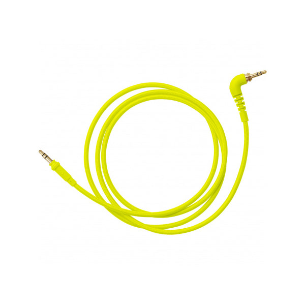 AIAIAI - C11 - Neon Woven Headphone Cable - With Adaptor - Yellow - 1.2m