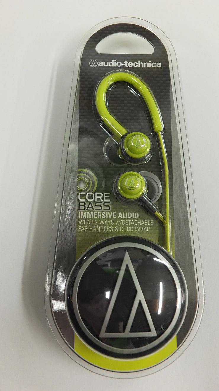 Audio-Technica ATH-COR150 LG Core Bass In-Ear Earphones - Audio46