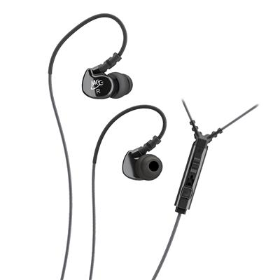 MEE Audio Sport-Fi® M6P2 In-Ear Headphones with Mic & Volume Control - Audio46