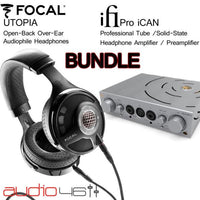 Focal Utopia & iFi PRO iCAN Heaphone Amplifier BUNDLE - Audio46