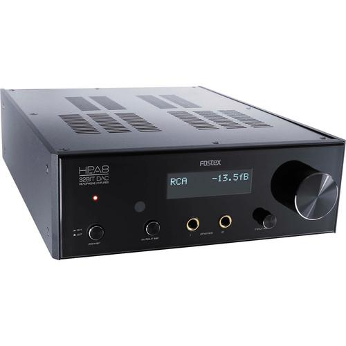 Fostex HP-A8C 32-Bit premium DAC & Headphone Amplifier - Audio46