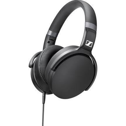 Sennheiser HD 4.30G Over-Ear Headphones with 3-Button Remote and Mic (Black) - Audio46