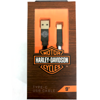FONEGEAR - Venture Harley-Davidson 9 foot Type-C USB Cable