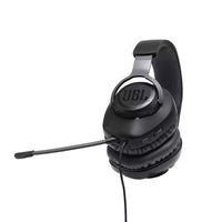 JBL - Quantum 100 Wired Over-Ear Gaming Headset with a Detachable Mic