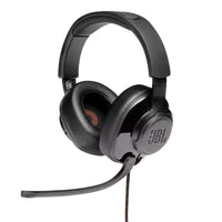 JBL - Quantum 200 Wired Over-Ear Gaming Headset with Flip-up Mic