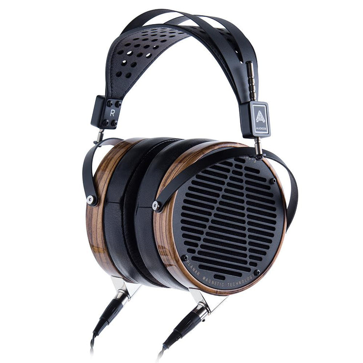 Audeze LCD-3 - High Performance Planar Magnetic Headphone (Zebrano, Leather-Free Microsuede) - Audio46
