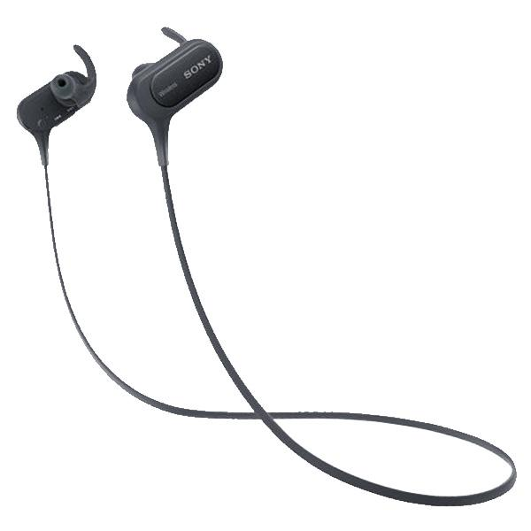 Sony MDR-XB50BS EXTRA BASS Black Bluetooth Sports In-ear Headphones - Audio46