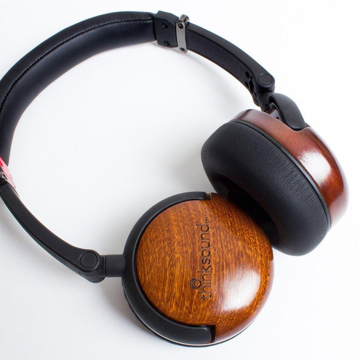 Thinksound On2 Monitor Series - Wooden Headphones - Audio46